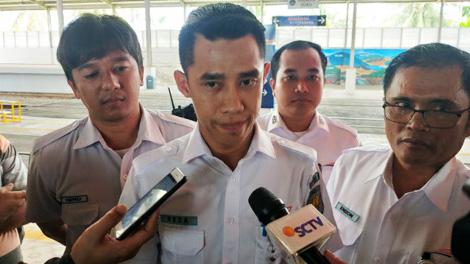 M. Reza Fahlepi, Kepala Humas PT KAI Divisi Regional II Sumatera Barat - www.gatra.com