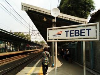 Stasiun Tebet - (YouTube: Vixedit Channel)