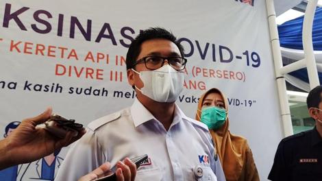 M Arifudin, Deputy EVP PT KAI Divre III Palembang - www.medcom.id