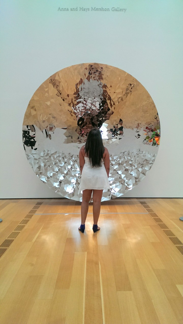 High Museum of Art Anna Hays Mershon Gallery, mirrored disk