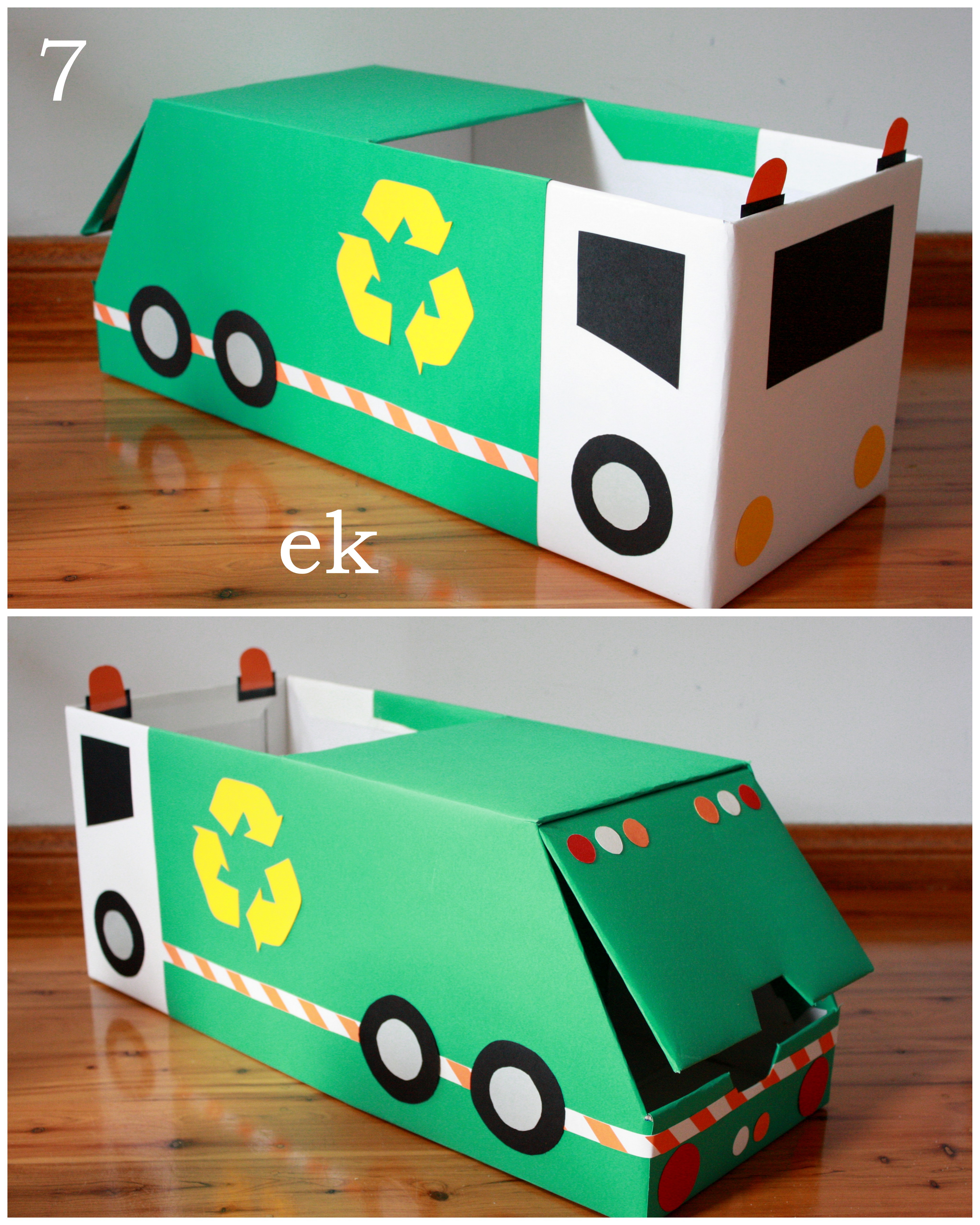 Box Car Tutorial Part 2 Larger Truck Emilia Keriene