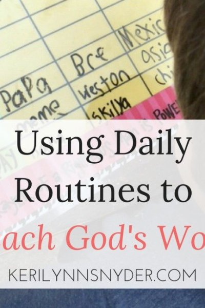 A Practical Way to Teach God's Word to Kids