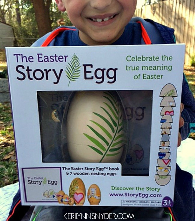 The best tool to use to teach kids about Easter