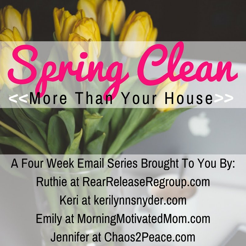 Spring cleaning tips for you and how you can clean more than your home!