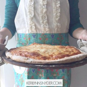 Learn how cooking with kids can be fun + sharing a simple pizza recipe