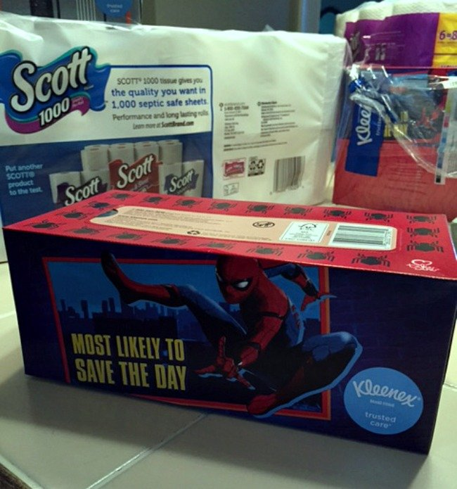 Back to school craft, DIY box tops container