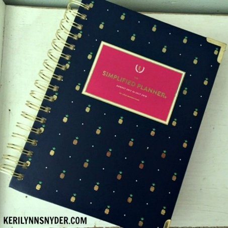 How I use my Simplified Planner to organize my day as a busy mom.