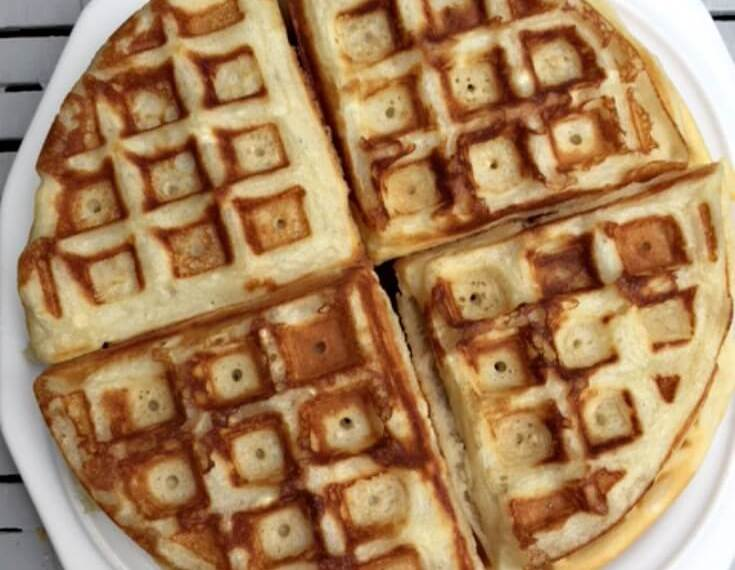 Easy breakfast, freezer waffles, DIY freezer waffles, make your own waffles