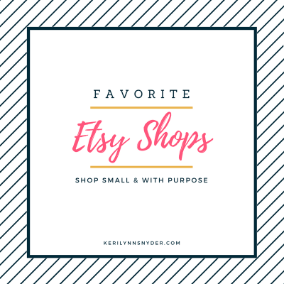Favorite Etsy Shops