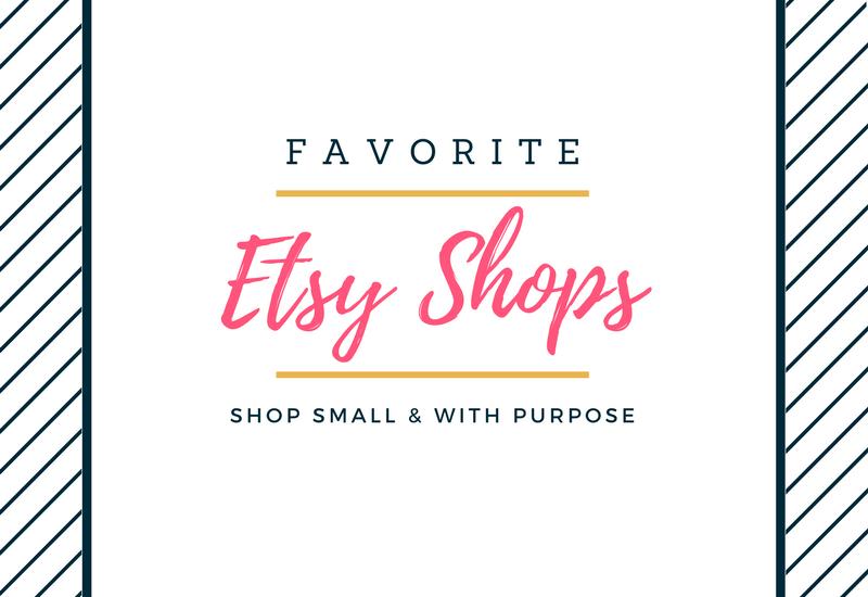 Favorite Etsy Shops