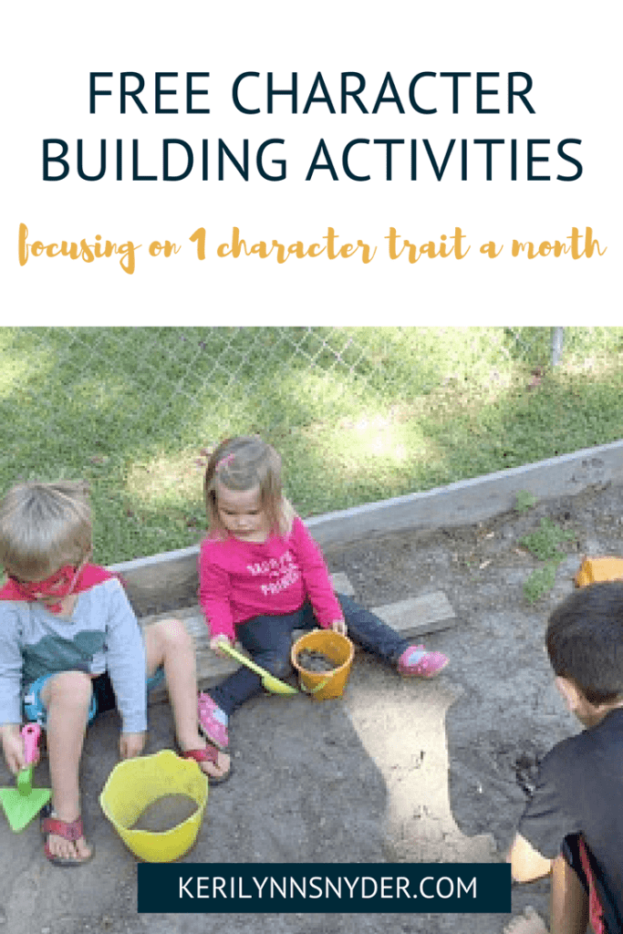 Character Building Activities, How to build character in your kids teaching your kids patience