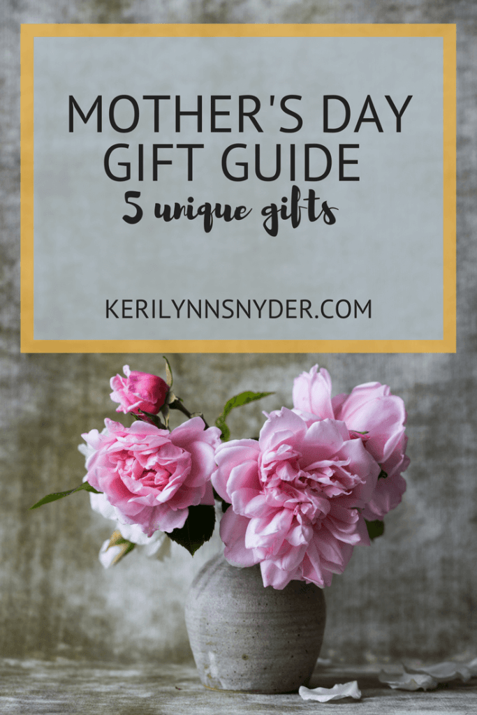 Mother's Day Gift Guide, 5 gifts for mom
