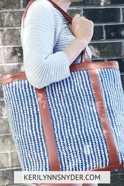 My favorite tote bag for moms, best moms tote bag