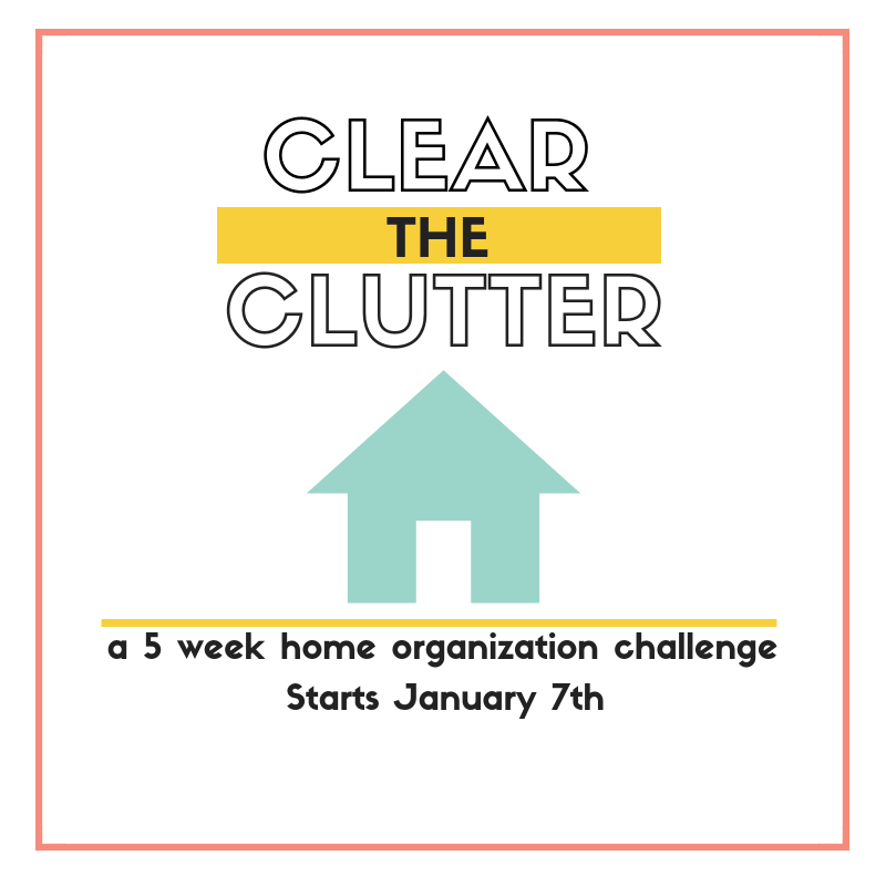 Clear the Clutter Challenge 2019