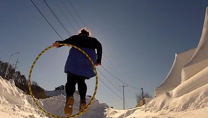 Vertical Jump Through (finish)