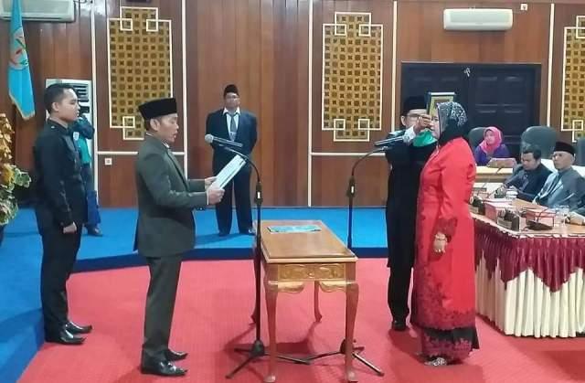Photo of Fitra Jaya Dilantik Jadi Anggota DPRD Kerinci, Gantikan Asril