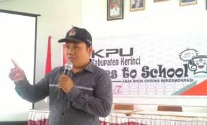 Kumaini Ketua Komisioner KPU Kerinci