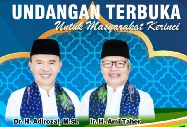 Photo of Adirozal Gelar Syukuran Bersama Masyarakat Setelah Dilantik
