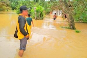 Banjir di Batanghari, Puluhan Rumah Terendam