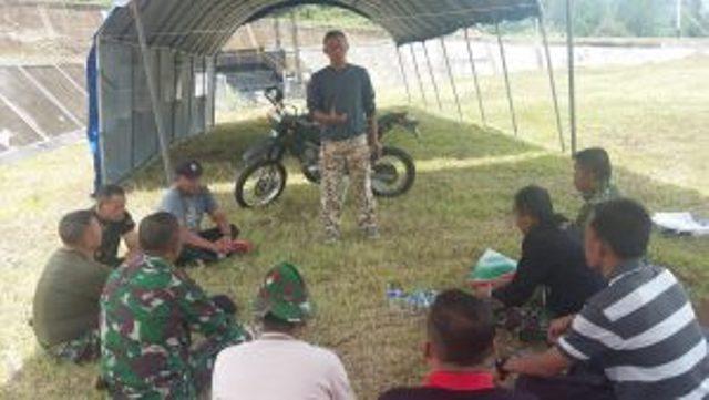 Dandim Kerinci Letkol Inf Sri Karyanto Tinjau Lokasi Pembukaan TMMD di Sungai Penuh