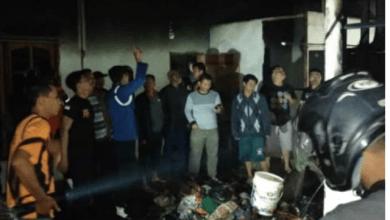 Photo of Lagi Kebakaran Terjadi, Rumah Safrina Warga Hamparan Rawang Habis Terbakar