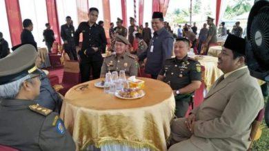 Photo of Zulhelmi Wakil Wali Kota Sungai Penuh Hadiri Upacara HUT Pol PP di Merangin