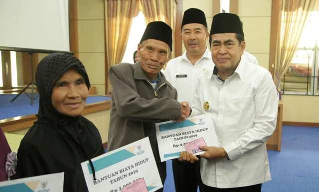 Photo of Bantuan Biaya Hidup Bagi Warga Kurang Mampu Dari Zakat PNS