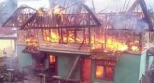 Al-Qur'an dan Pakaian Santri Ponpes Al-Huda Hangus Terbakar, Akibat Konsleting Listrik