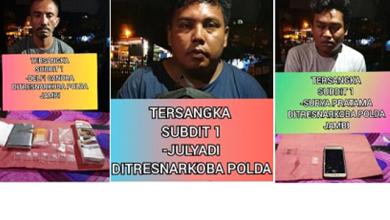 Photo of Ditresnarkoba Polda Jambi Tangkap 3 Pelaku Pengedar Sabu