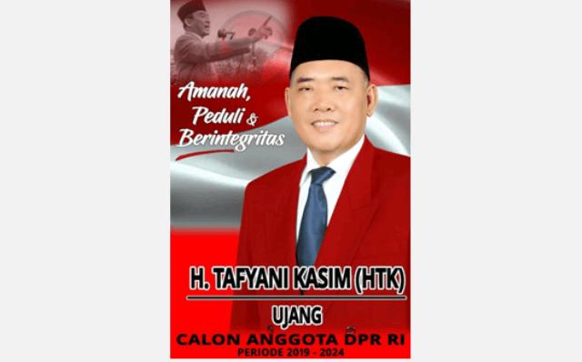 H. Tafyani Kasim Caleg PDIP untuk DPR RI