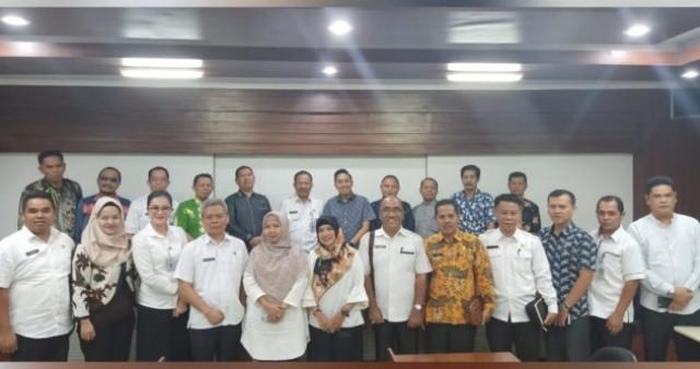 DPRD Kota Sungai Penuh Kunjungi Kota Depok