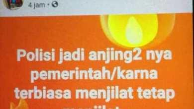 Photo of Hina Polisi di Facebook, Irawan Warga Lempur Kerinci Diciduk