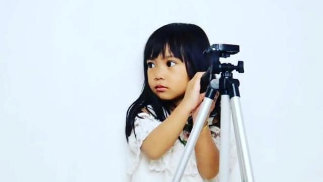 Photo of Ziya Si Model Cilik Berperan Sebagai Puti Karadoik
