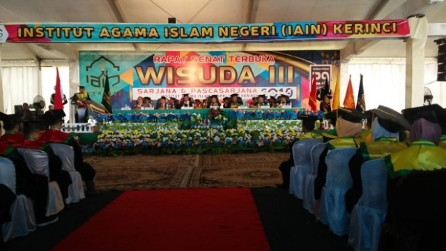 Photo of 672 Mahasiswa IAIN Kerinci Diwisuda