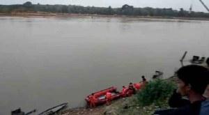 Pencarian Bocah tenggelam di Sungai Batanghari kembali dilanjutkan. Foto: Rizki/Jambiseru.com