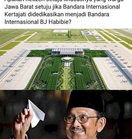 Photo of Usulan Ridwan Kamil Ingin Menjadikan Kertajati Jadi Bandara BJ Habibie