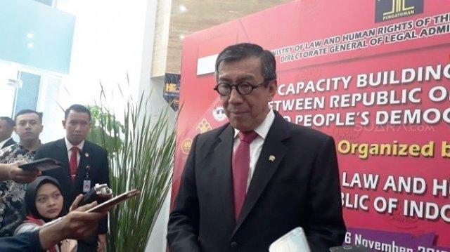Photo of Anak Menkumham Yasonna Diperiksa KPK Terkait Kasus Suap Proyek