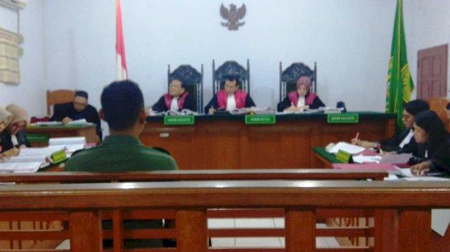 Photo of Anggota TNI Jadi Saksi Sidang SMB