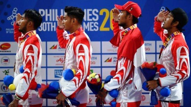 Photo of Indonesia Kokoh di Posisi Dua Dengan 40 Medali Emas