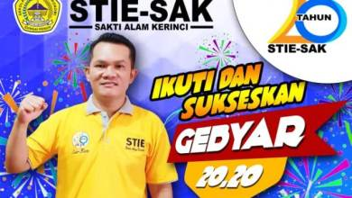 Photo of STIE SAK Gelar Gebyar 20.20 Dies Natalis 2020
