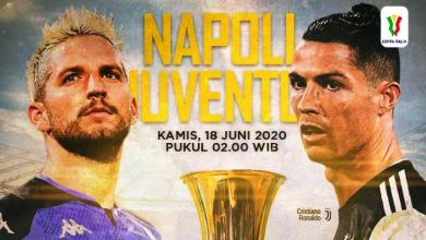 Photo of Final Coppa Italia Mempertemukan Napoli Vs Juventus