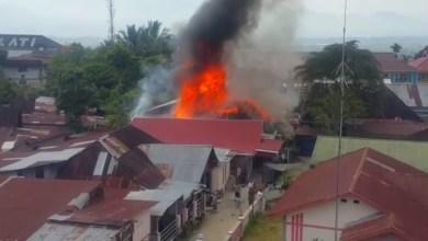 Photo of Rumah Warga Sungai Penuh Terbakar
