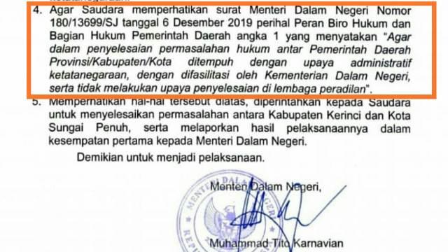 Photo of Bupati Kerinci Dinilai Kangkangi Surat Mendagri 180 Tahun 2019