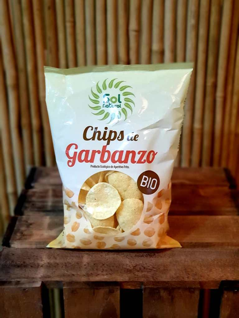 Chips de garbanzo Sol Natural