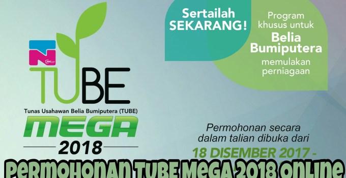 Permohonan TUBE Mega 2018 : Modal Mulakan Perniagaan Untuk Golongan Belia