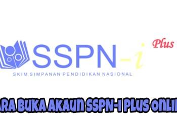 Cara Buka Akaun SSPN-i Plus Online