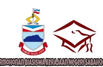 Permohonan Biasiswa Kerajaan Negeri Sabah 2018 Online