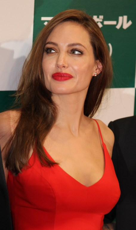 Nov. 9, 2011 - Tokyo, Japan - ANGELINA JOLIE attends the Japan Premiere promoting the film ''Moneyball'' at Kokusai Forum on November 9, 2011 in Tokyo, Japan. The film will open on November 11 in Japan