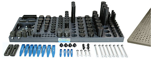Fixturing-clamping-kit