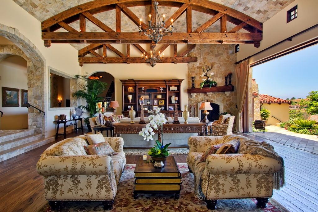 TBT to Rancho Santa Fe Living   Kern   Co  Living Room Design Rancho Santa Fe   Indoor Outdoor Living   by Susan Spath  and Kern